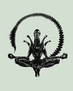 So, I want an HR GIGER tattoo... lol