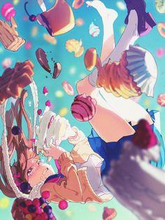 Colors Sweet~ ( ̄ω ̄) Artist: Deru (Mimizubare) - Global Anime Pictures