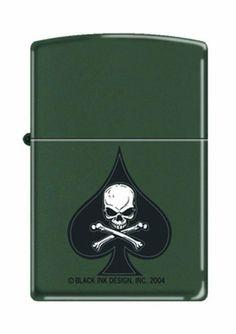 Military Ace of Spade Death Skull Zippo Lighter by Zippo. $26.95. Military Ace of Spade Death Skull Zippo Lighter