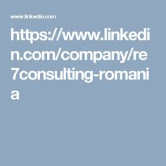 https://www.linkedin.com/company/re7consulting-romania