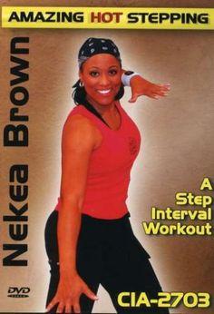 Nekea Brown: Amazing Hot Stepping - A Step Interval Workout Creative Instructors' Aerobics http://www.amazon.com/dp/B000OY3CAC/ref=cm_sw_r_pi_dp_hsK.tb1E65GPH