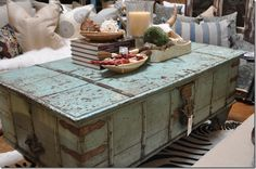 The detail on this trunk is amazing, the color goes so neutral!  I love this piece, it's going to go fast!  Lots of new items at Bungalow Furniture & Accessories, Scottsdale!