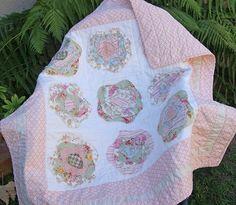 Shabby Chic Rose Petal Quilt