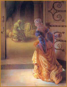Kinuko Y. Craft in Fairy Tale Art: Sleeping Beauty sleeping beauty Classic Fairy Tales, Children's Book Illustration, Art Illustrations, Botanical Illustration, Briar Rose, Fairytale Art, Fairytale Fantasies, Illustrators, Fantasy Art