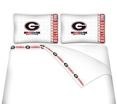 Bulldogs Microfiber Sheet Set