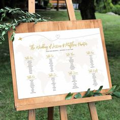World Map Seating Chart, Seating Chart Destination Wedding, Table Plan For Beach Wedding, Seating Chart With Picture, Table Plan World Map