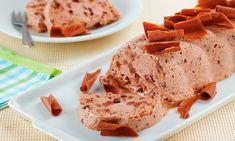 Sorvete-mousse de chocolate