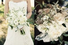 Beautiful white bridal bouquet! White Lotus Productions | White ...