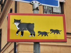Pelle Svanslös, Uppsala, Sweden most kids have read the books about this beloved cat!
