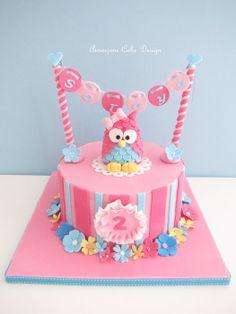 owl birthday cakes | Owl birthday Cake - by aimeejane @ CakesDecor.com - cake decorating ...