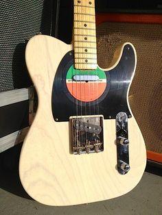 Vintage Album Art LP Vinyl Record Pickguard Fender Telecaster Retro