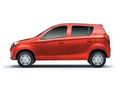 The Alto 800 comes in many exciting colours.