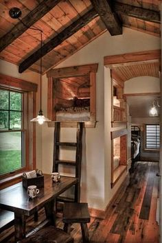 Incredible Little House Interior Design Ideas - Ideas . Incredible Little House Interior Design Ideas - The decoration of our home . Home Design, Tiny House Design, Home Interior Design, Design Design, Smart Design, Exterior Design, Design Trends, Tiny House Cabin, Tiny House Living