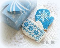 lace decorated cookie gallery   ... share to facebook ярлыки christmas cookies cookies lace mittens