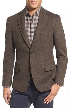 $625, Billy Reid Lenox Virgin Wool Blazer. Sold by Nordstrom. Click for more info: https://lookastic.com/men/shop_items/387383/redirect
