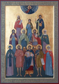 Byzantine Icons, Painting, Art, Saints, Art Background, Painting Art, Kunst, Paintings, Performing Arts