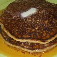 Quick, easy, and delicious, these light and flavorful pumpkin pancakes are best when served warm with butter and syrup.
