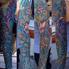 Poseidon Full-Color Underwater Sleeve