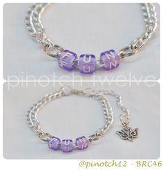 fun bracelet! unique-limited-unpredectable more info follow @pinotch12 ♥