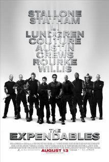 The Expenibles (2010) ... I reluctantly say that I liked this movie ... I know - embarrassing  (LOL)
