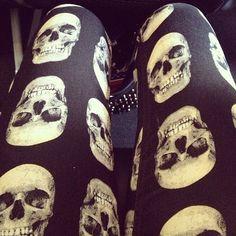 Skull tights!