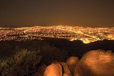 Gaborone, Botswana - I remember a similar view from Gbane, Botswana. From vast and barren to cosmopolitan big little city. Loved living there.