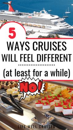 5 ways cruises will feel different for a while