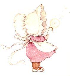 Ruth Morehead Sun Bonnet 1976 Collection Ilustraciones Tarjetas Cards Vintage