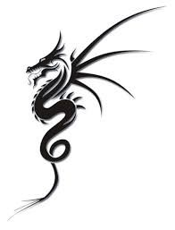 Image result for english dragon tattoos on side