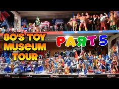 COMIC BITS ONLINE: Virtual Tour: The Michael Mercy 80's Toy Museum [P...