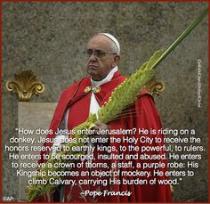 Pope Francis,Palm Sunday