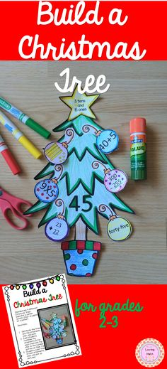 A fun craftivity to do with your students during the Christmas season and at the same time practice some math skills. Super fun!!