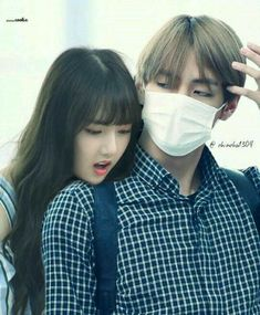 (Taehyung x Yerin) Ulzzang Couple, Ulzzang Girl, Hidden Love, Bts Girl, Gfriend Sowon, Kpop Couples, Bts Playlist, G Friend, My Youth
