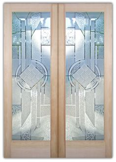 Interior Glass Doors, Glass Front Doors, Pantry Doors, Laundry Room Doors and Glass Wine Cellar Doors that YOU customize and buy online! Etched Glass Door, Frosted Glass Door, Glass Front Door, Glass Doors, Glass Partition Designs, Window Glass Design, Door Design, Glass Wine Cellar, Double Front Doors