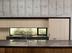 Concrete Box House is a Japanese-inspired minimalist home designed by Robertson Design in Located in Houston, Texas, United States, the house measures Contemporary Beach House, Contemporary Kitchen Design, Japanese Home Decor, Asian Home Decor, Beton Design, Concrete Design, Design Design, Design Ideas, Minimalist House Design