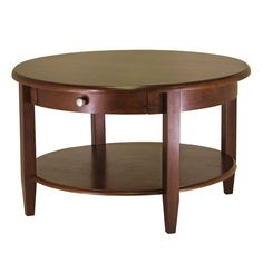 Concord Round Coffee Table - Coffee Tables at Hayneedle