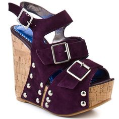 LUICHINY : POP PIN - PURPLE SUEDE
