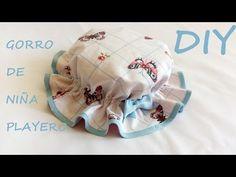 Gorro de niña playero: DIY (Patrón gratis). - Patronesmujer: Blog de costura, patrones y telas.