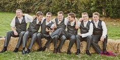 Gorgeous groomsmen!