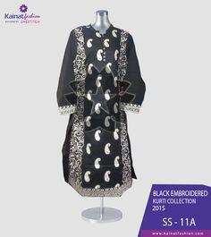 Kainat Fashion new Intimate #BlackKurtis Collection Price: PKR 1650 USD: $17 Place your order through Call / SMS / Whatsapp / Viber ☛{+92-322-3504542}  #FashionPakistan #MidSummerCollection #BlackCollection