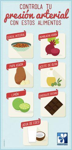 Agrega estos alimentos a la dieta y controla tu presión arterial #ViveSaludable