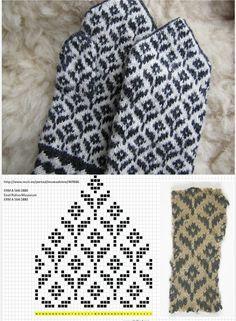Knitted Mittens Pattern, Knit Mittens, Crochet Patterns Amigurumi, Baby Knitting Patterns, Crochet Mermaid Blanket, Tapestry Crochet, Finger Crochet, Finger Knitting, Wool Gloves