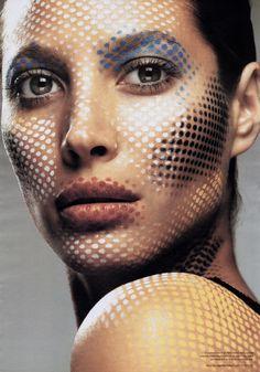 Christy Turlington by Regan Cameron - Us V Magazine 2002