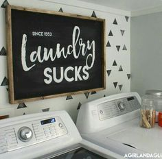 25 Ways to Give Your Small Laundry Room a Vintage Makeover Laundry room decor Small laundry room organization Laundry closet ideas Laundry room storage Stackable washer dryer laundry room Small laundry room makeover A Budget Sink Load Clothes Laundry Closet, Laundry Room Storage, Laundry In Bathroom, Laundry Rooms, Small Laundry, Laundry Area, Diy Storage, Basement Storage, Basement Kitchenette