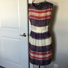 "beautiful pocket dress. Never worn, new with tags. Great colors and pattern. Zip up on left side. Two front pockets. ❌No trades or Paypal Quick shipping Offers welcome through ""Make an Offer"" feature.  Bundle discount using the bundle feature. RACHEL Rachel Roy Dresses"