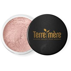 Terre Mere Cosmetics Mineral Eyeshadow in Bronze Tourmaline (£10) ❤ liked on Polyvore featuring beauty products, makeup, eye makeup, eyeshadow, no color, blender brush, blending brush, hypoallergenic eye shadow, eyeshadow brush and mineral eye makeup