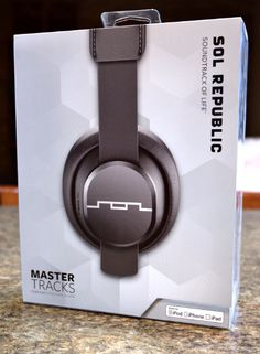 Sol Republics Master Tracks Headphones Review and Give Away - Fantastic Option for Mother's and Father's Day - Busy-at-Home