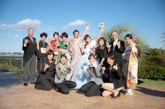 最後は、みんなで「アロハー!」 ウェディングフォト ブライダルフォト Paseo Bridal http://www.onuki.tv/bridal