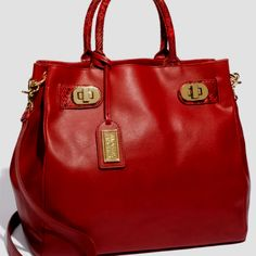 I love red bags