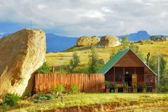 Ingwe Cabin - Little Switzerland Accommodation. Little Switzerland Self Catering House, Cottage, Chalet Accommodation Places Worth Visiting, Self Catering Cottages, Kwazulu Natal, Holiday Accommodation, Cottage Homes, Switzerland, Bungalow, Monument Valley, House Styles